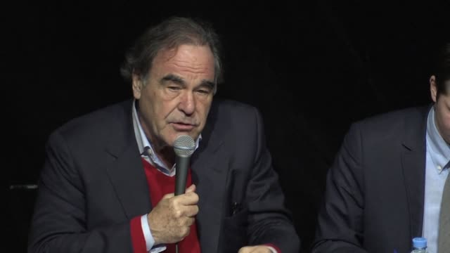 US film director Oliver Stone is in Moscow to present his book Conversations with Putin which is based on his documentary released last June about...