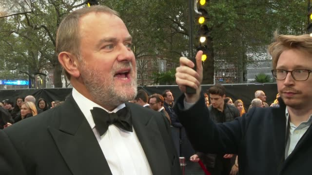 'downton abbey' movie premieres in leicester square england london leicester square robert jamescollier along elizabeth mcgovern on red carpet hugh... - elizabeth james actress stock videos & royalty-free footage