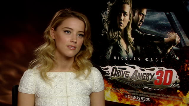 'Drive Angry 3D' interview with Amber Heard Heard interview continues SOT