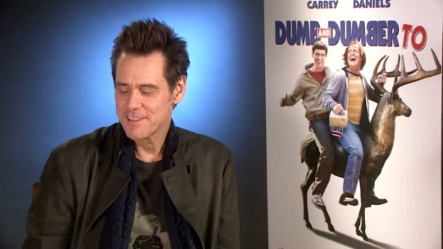 'Dumb and Dumber To' Interviews Jim Carrey interview SOT
