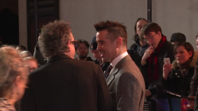 'Dumbo' European premiere red carpet interviews ENGLAND London Curzon Mayfair GVs 'Dumbo' cast including Tim Burton Eva Green Colin Farrell