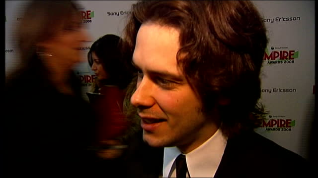 empire film awards edgar wright interview sot on working with simon pegg / potential future projects wright hugging nick frost wright interview sot... - nick frost actor stock videos & royalty-free footage