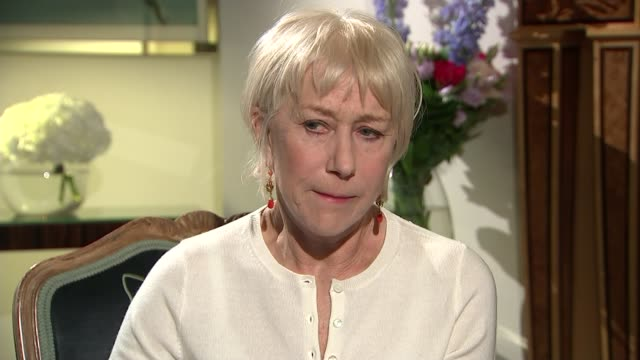 'Eye In the Sky' Dame Helen Mirren interview Dame Helen Mirren interview SOT re Alan Rickman