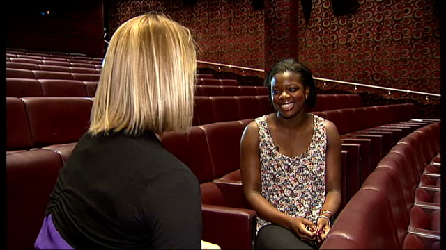 'fast girls' philip interview sot cutaways reporter crystal palace dominique tipper and lashana lynch off starting blocks and running along track... - kelly lynch stock videos and b-roll footage