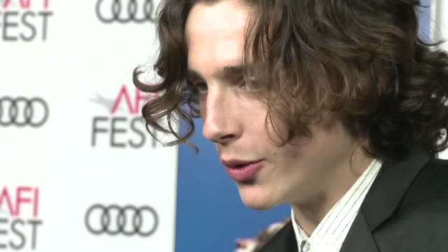 afi film festival rolled out the red carpet for italian romance film call me by your name and its lead actor timothee chalamet a likely candidate for... - call me by your name stock videos & royalty-free footage