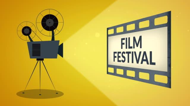 映画祭 - 映画用カメラ点の映像素材/bロール