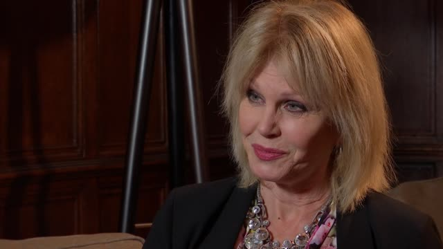 'finding your feet' joanna lumley interview joanna lumley interview sot on film 'finding your feet' / loneliness amongst older people - joanna lumley stock videos & royalty-free footage