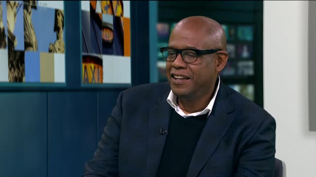 Forest Whitaker interview ENGLAND London GIR INT Forest Whitaker interview SOT re new Star Wars film 'Rogue One'