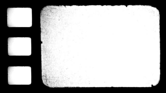 stockvideo's en b-roll-footage met film frame with sprocket holes. hd - sprocket