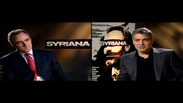 george clooney attacked by rightwing critics int mates and george clooney george clooney interview sot i've been fairly outspoken about my political... - george clooney stock videos and b-roll footage