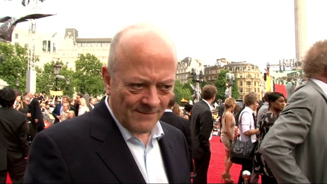 'harry potter and the deathly hallows part two' premiere: celebrity interviews; williams hugging david barron david barron interview sot - on the... - epic film stock videos & royalty-free footage