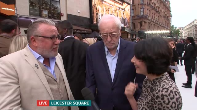hatton garden raid film 'king of thieves' premieres in leicester square england london leicester square michael caine and ray winstone live red... - ray winstone stock videos & royalty-free footage