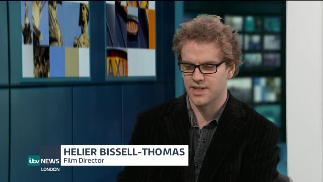Helier BissellThomas interview ENGLAND London GIR INT Helier BissellThomas LIVE STUDIO interview SOT