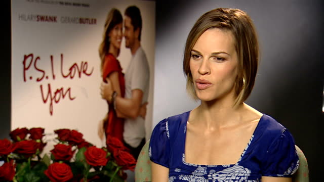 hilary swank interview england london int hilary swank interview sot - hilary swank stock videos & royalty-free footage
