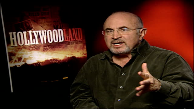 'hollywood' ben affleck and bob hoskins interview hoskins interview sot the end breaks your heart - ben affleck stock videos and b-roll footage