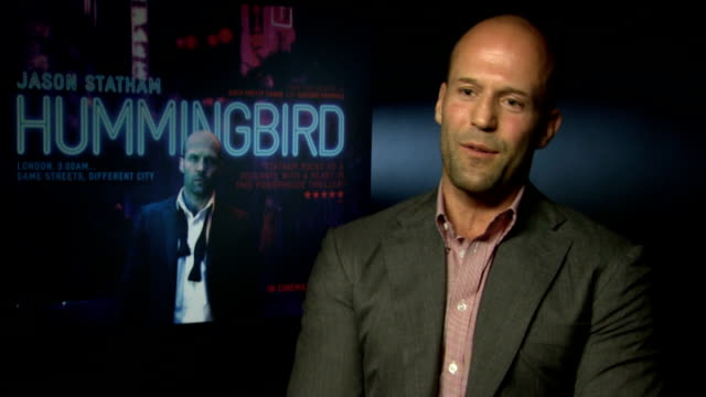 jason statham interview; statham interview sot - on getting into shape - on whether he cooks a lot - not opposed to putting my stuff on a plate - on... - crockery stock videos & royalty-free footage