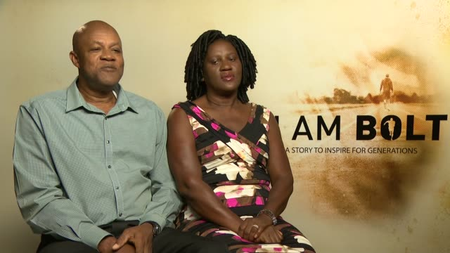 am bolt' documentary film premiere; wellesley bolt interview sot - documentary film stock videos & royalty-free footage