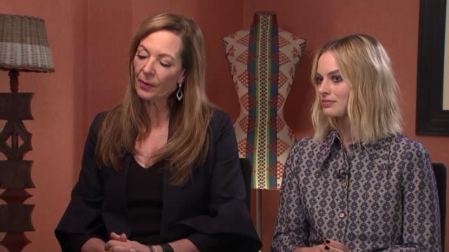 'I Tonya' Allison Janney and Margot Robbie interview Allison Janney interview SOT re Tonya's mother CUTAWAYS reporter