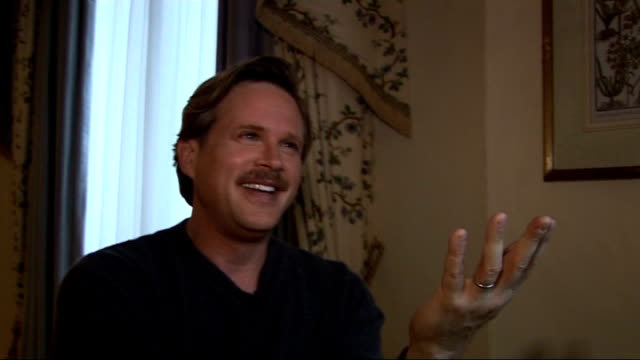interview with actor Cary Elwes Cary Elwes interview SOT How he copes with the film whether he has to watch Abba afterwards to get out of the mindset...