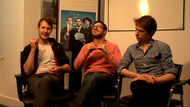 interview with cast of 'chickens' / dev interview sweet bird and thomas interview sot on whether there will be an inbetweeners reunion second film... - i'm a celebrity... get me out of here stock videos & royalty-free footage