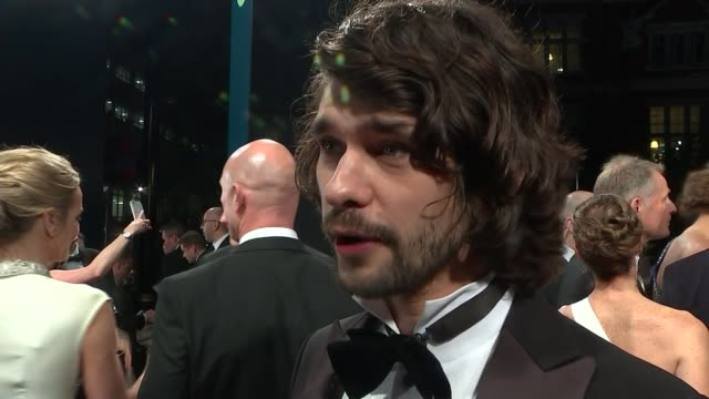 james bond film 'spectre' world premiere: red carpet arrivals; ben wishaw red carpet interivew sot/ dame joan collins red carpet arrival with husband... - ben whishaw stock videos & royalty-free footage