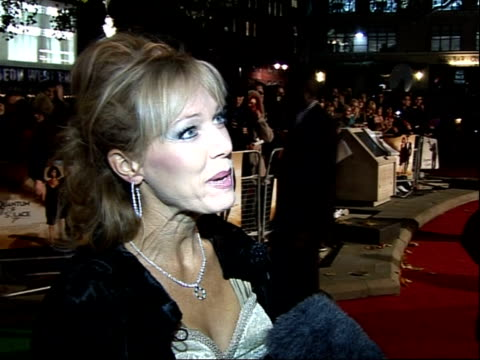 james bond 'quantum of solace' premiere in london red carpet arrivals and interviews lynnholly johnson along on red carpet and interview sot on the... - bond girl fictional character stock videos & royalty-free footage
