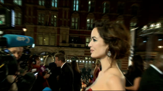 james bond 'skyfall' premiere arrivals and interviews ben wishaw interview sot on being sex symbol thats very nice to hear on working with daniel and... - skyfall 2012 film stock videos and b-roll footage