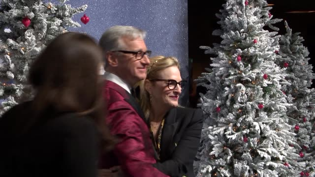 'last christmas' premiere red carpet england london bfi southbank photography** paul feig and his wife laurie karon red carpet gvs / photographers /... - bfi southbank stock videos & royalty-free footage