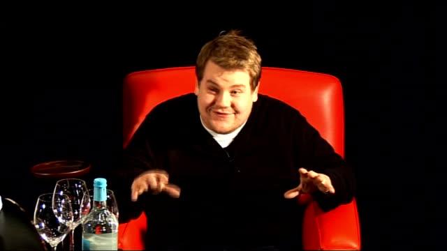 film 'lesbian vampire killers' james cordon mathew horne phil claydon press conference james cordon mathew horne press conference sot joke about... - jack black stock videos & royalty-free footage
