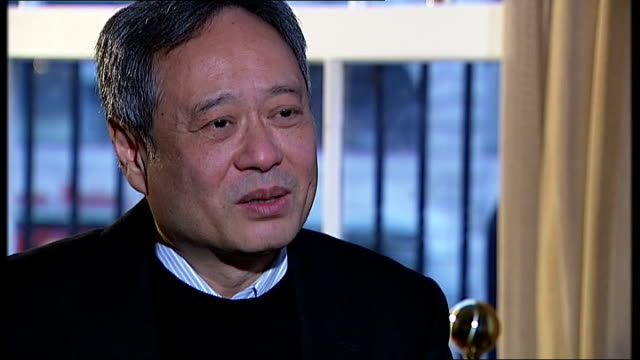'Life of Pi' Ang Lee interview ENGLAND London INT Ang Lee interview SOT
