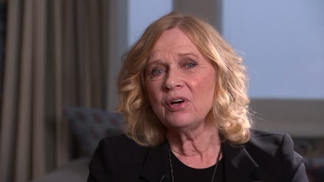 liv ullmann interview liv ullmann interview sot re roles for older women in film - liv ullmann stock videos and b-roll footage