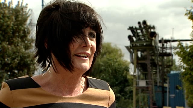 'made in dagenham' sandie shaw interview england essex dagenham ext sandie shaw interview sot on how it feels to be back in dagenham / memories of... - 不公平点の映像素材/bロール