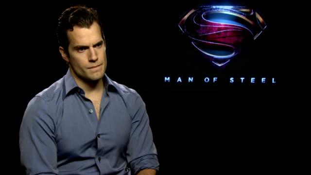 'Man of Steel' Junket interviews ENGLAND London INT Henry Cavill interview SOT Amy Adams interview SOT