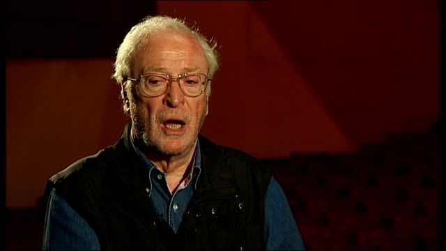 Michael Caine interview and book signing Michael Caine interview continued SOT I am optimistic to the point of being a moron/ not very good but...