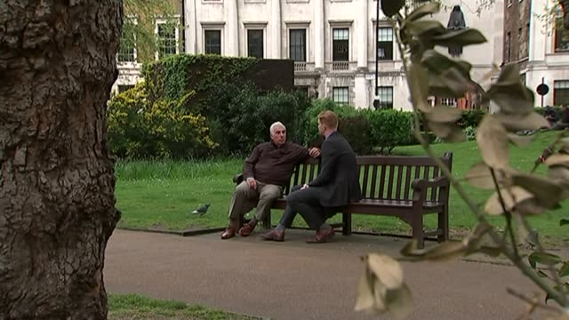New documentary about Amy Winehouse called 'Amy' Mitch Winehouse interview SOT Mitch Winehouse sat with reporter on park bench