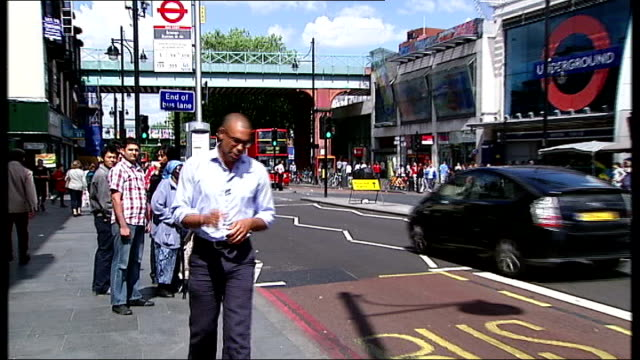 new documentary about West Indies cricket team ENGLAND London Brixton EXT Reporter to camera