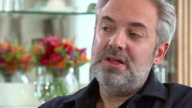new james bond film 'spectre' film premiere; int sam mendes interview sot - if there's a story worth telling then maybe its worth doing / right now,... - sam mendes stock videos & royalty-free footage