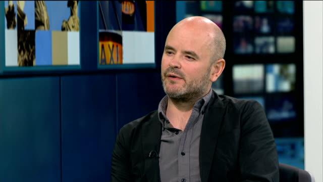 'Night Bus' film about London night bus Simon Baker STUDIO interview SOT