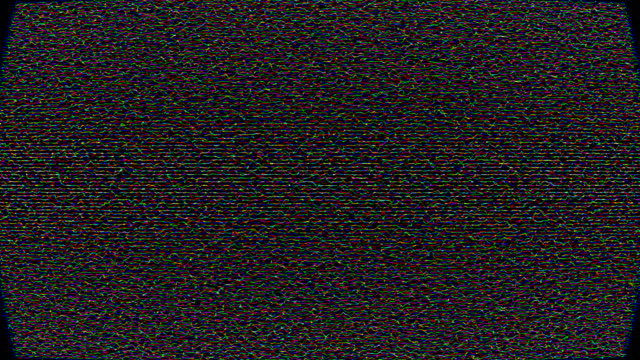 vídeos de stock e filmes b-roll de film noise on analog tv screen vhs - estilo retro