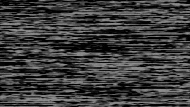 film noise on analog tv screen vhs - flicker bird stock videos & royalty-free footage