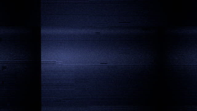 vídeos y material grabado en eventos de stock de película ruido en pantalla del televisor analógico vhs - pájaro carpintero escapulario
