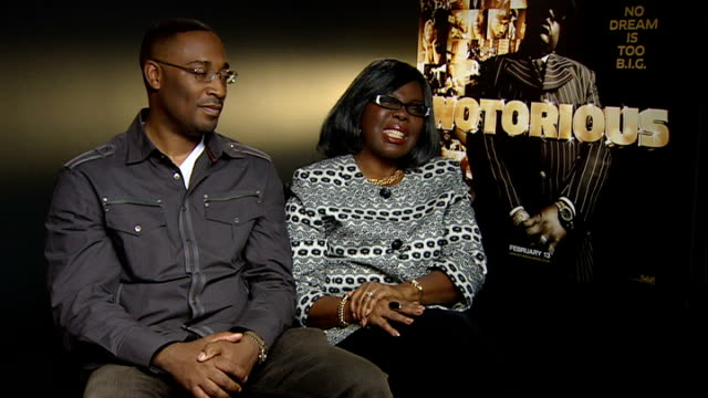 notorious big biopic wallace interview sot on the frustration and hurt - biggie smalls stock videos and b-roll footage