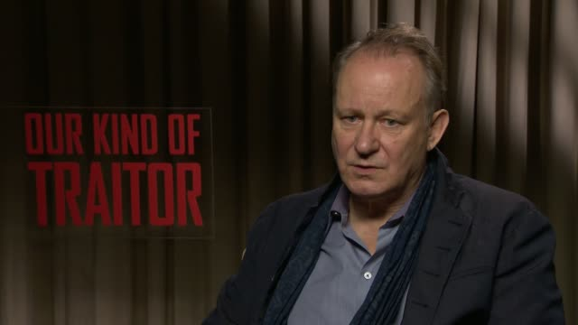 'Our Kind of Traitor' Ewan McGregor and Stellan Skarsgard intevriews Stellan Skarsgard interview SOT