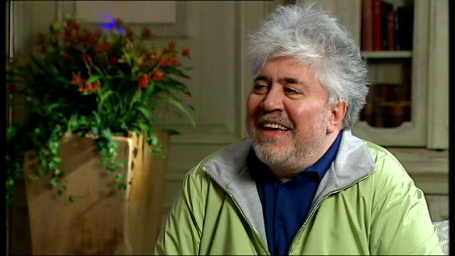 Pedro Almodovar interview Almodovar interview SOT feel the same as when I was 8 years old It was a kind of a joke a lot of struggle making movies /...