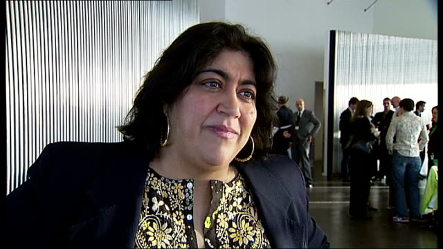 Plans to attract filmmakers to London INT Director Gurinder Chadha interview SOT Used to be reporter for BBC / On new regulations for shooting films...