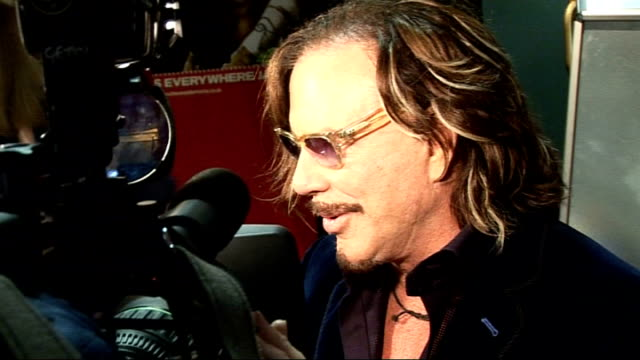 film premiere of 'the wrestler' in london mickey rourke photocall and interviews mickey rourke speaking to press sot speaks about learning to... - mickey rourke actor stock videos & royalty-free footage