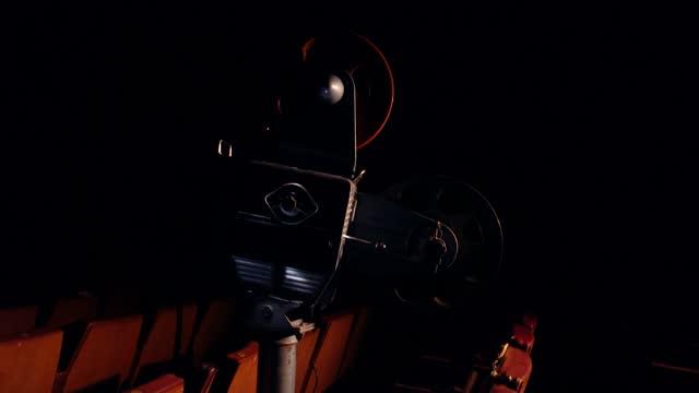 フィルムプロジェクター 4k - サウンドトラック点の映像素材/bロール