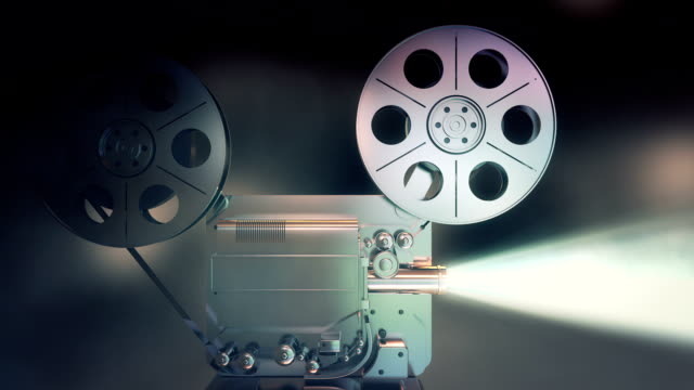 film projector - film feeder stock videos & royalty-free footage