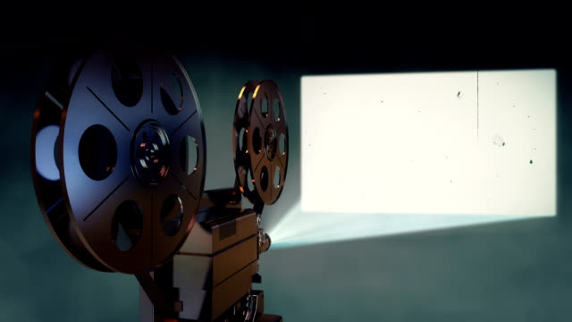 film projector - projection stock videos & royalty-free footage