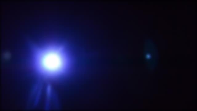 Film-Projektor mit blinkenden Lichter.